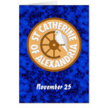 Saint Catherine of Alexandria Card