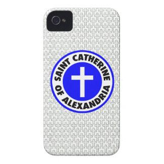 Saint Catherine of Alexandria Case-Mate iPhone 4 Cases