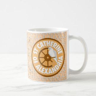 Saint Catherine of Alexandria Classic White Coffee Mug