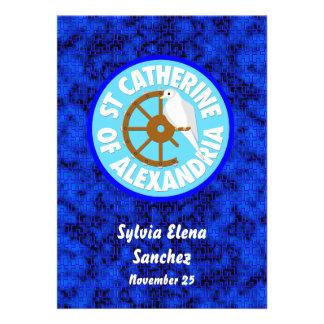 Saint Catherine of Alexandria Invite