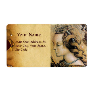 Saint Catherine of Alexandria Label