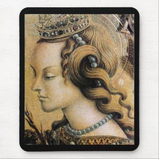 Saint Catherine of Alexandria Mouse Pad
