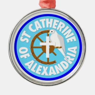 Saint Catherine of Alexandria Christmas Ornaments