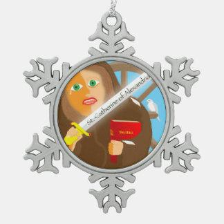 Saint Catherine of Alexandria Ornament