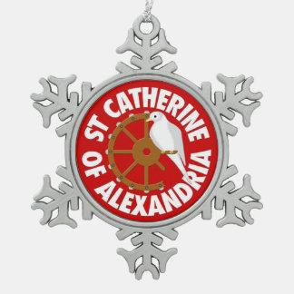 Saint Catherine of Alexandria Ornaments