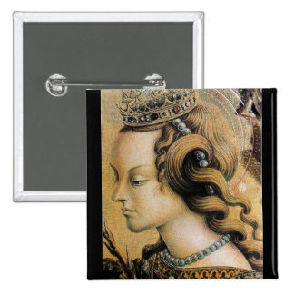 Saint Catherine of Alexandria Pinback Button