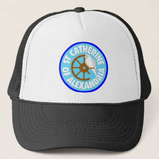 Saint Catherine of Alexandria Trucker Hat