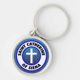 Saint Catherine of Siena Keychain