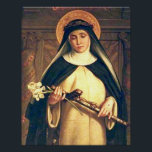 "Saint Catherine of Siena Poster<br><div class=""desc"">Saint Catherine of Siena,  Mystic and Doctor of the Church</div>"