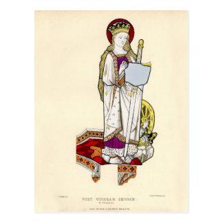 Saint Catherine Postcard