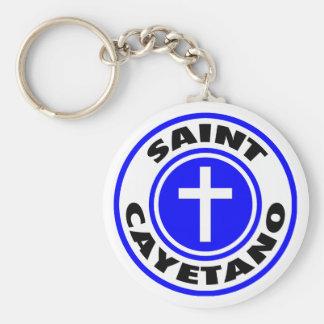 Saint Cayetano Keychain