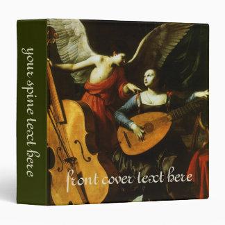 Saint Cecilia and the Angel by Carlo Saraceni Binder