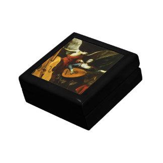 Saint Cecilia and the Angel by Carlo Saraceni Jewelry Box