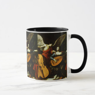 Saint Cecilia and the Angel by Carlo Saraceni Mug