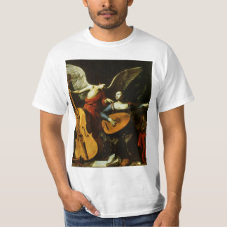 Saint Cecilia and the Angel by Carlo Saraceni T-Shirt