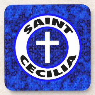 Saint Cecilia Drink Coaster