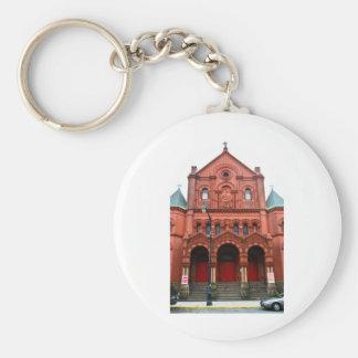 Saint Cecilia Parish in East Harlem keychain