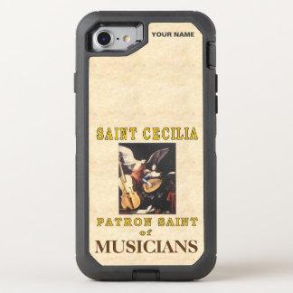 SAINT CECILIA (Patron Saint of Musicians) OtterBox Defender iPhone 7 Case