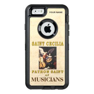 SAINT CECILIA (Patron Saint of Musicians) OtterBox Defender iPhone Case