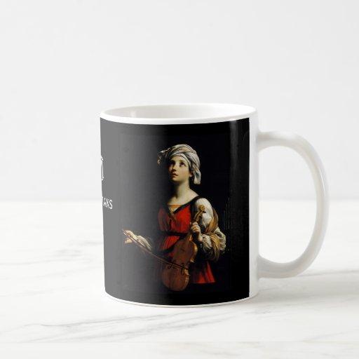 Saint Cecilia Patroness of Musicians Coffee Mug
