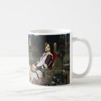 Saint Cecilia Serenaded by Angels with Violins Coffee Mug