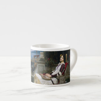 Saint Cecilia Serenaded by Angels with Violins 6 Oz Ceramic Espresso Cup