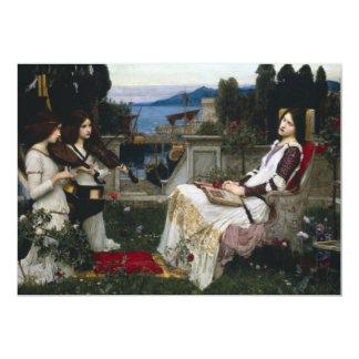 Saint Cecilia Sitting in the Garden Invitation