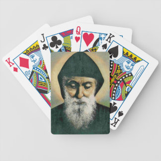 Saint Charbel Bicycle Playing Cards