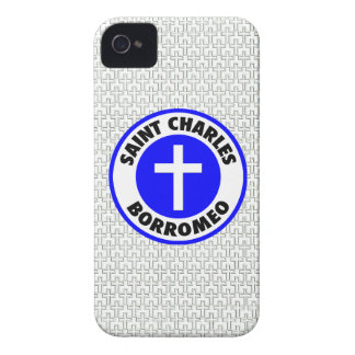 Saint Charles Borromeo iPhone 4 Case-Mate Cases