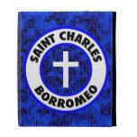 Saint Charles Borromeo iPad Folio Covers