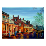 Saint Charles Cityscape II Landscape Oil Painting Posters