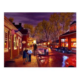 Saint Charles Cityscape Landscape Oil Painting Postcard