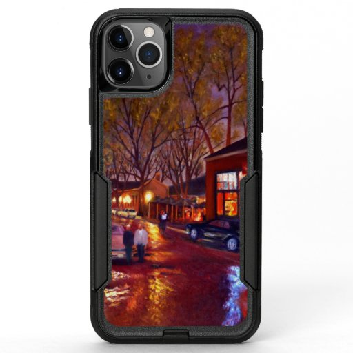 Saint Charles Cityscape Oil Landscape Painting OtterBox Commuter iPhone 11 Pro Max Case