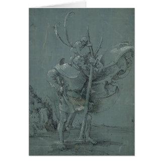 Saint Christopher, 1510 Card