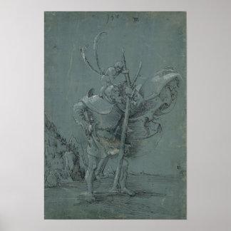 Saint Christopher, 1510 Poster