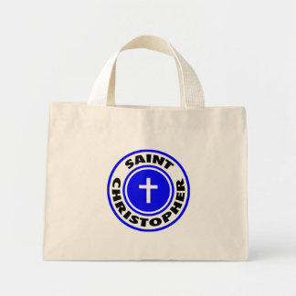 Saint Christopher Tote Bags