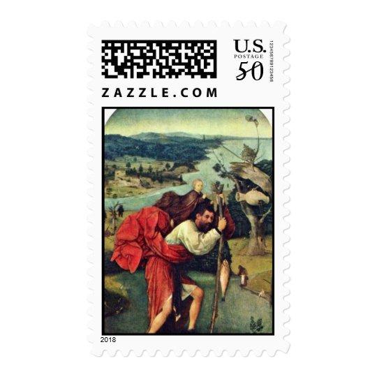 Saint Christopher. By Hieronymus Bosch (Best Quali Postage