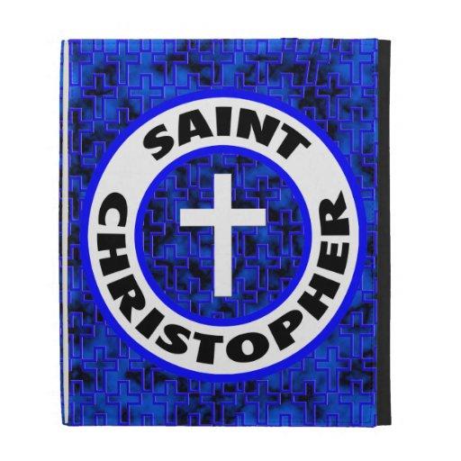 Saint Christopher iPad Folio Cover