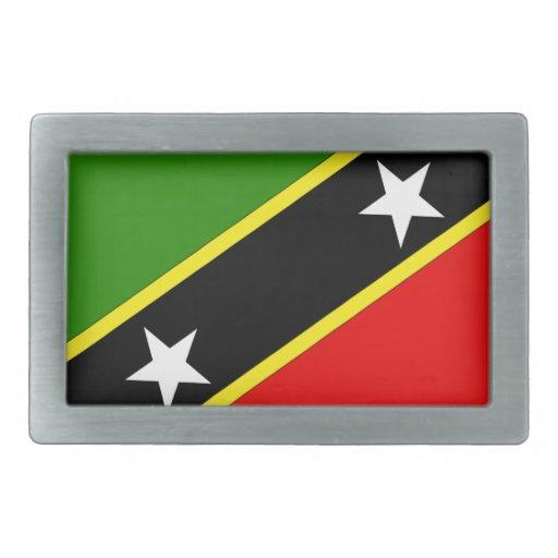 Saint Christopher Nevis Belt Buckles