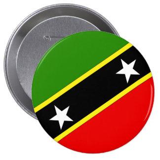 Saint Christopher Nevis Pinback Buttons