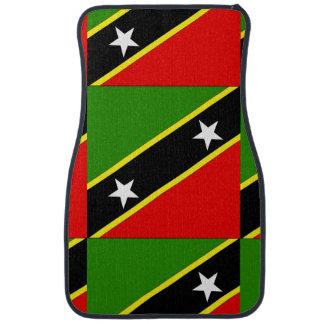 Saint Christopher Nevis Car Mat