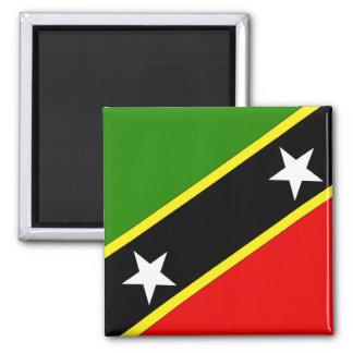 Saint Christopher Nevis Flag Magnet