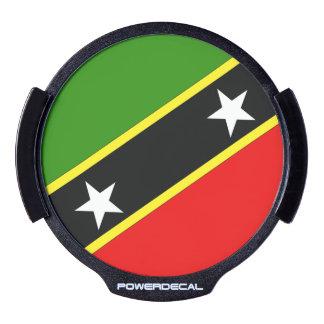Saint Christopher Nevis LED Window Decal