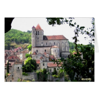 Saint-Cirq  France Greeting Card