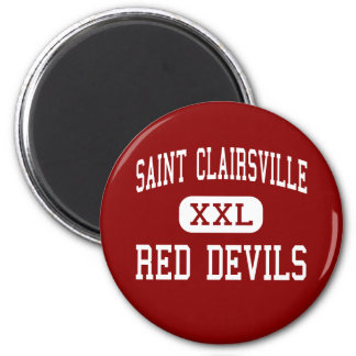 Saint Clairsville - Red Devils - Saint Clairsville Magnet