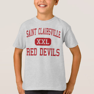 Saint Clairsville - Red Devils - Saint Clairsville T-Shirt