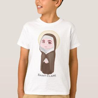 Saint Clare Cute Catholic T-Shirt