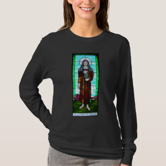Saint Clare of Assisi women's long-sleeved shirt