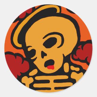Saint Classic Round Sticker