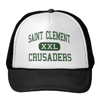 Saint Clement - Crusaders - Catholic - Center Line Trucker Hat